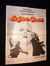 LES GALETS D' ETRETAT ! m ronet sergio gobbi   affiche cinema vintage 1972