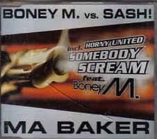 Boney M vs Sash-Ma Baker cd maxi single