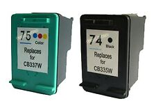 Ink Cartridge For HP 74 CB335WN + HP 75 CB337WN Printer