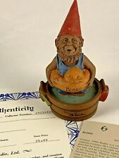 Buddy 1990 Tom Clark Gnome Signed Figurine 5111 Coa Story 10