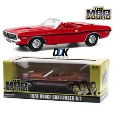 GREENLIGHT 13565 The Mod Squad 1970 Dodge Challenger RT Diecast 1:18 Rallye Red
