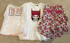 Monsoon blouse X2 GAP owl jumper dress Age 2 - 3 flower top shirt
