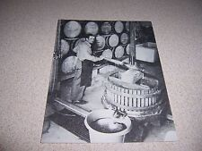 AMANAS MAKING WINE at EHRLE BROTHERS WINERY HOMESTEAD IOWA VTG POSTCARD