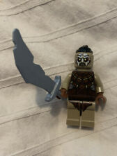 LEGO Hobbit Lord of the Rings Orc Top Knot w/Sword Knife Minifig 79016