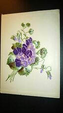 """Antique  """" GREETINGS & WISHES""""  Post Card - Embossed. Appr. 1905-14."""