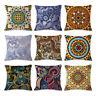 Indian Mandala Flax Pillows Square Cushion Pillows Cover Case Cushions 45×45cm