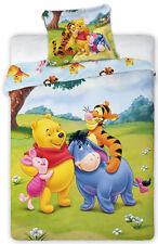 2-tlg Kinder Bettwäsche DISNEY 100x135 Winnie POOH Minnie SAM PAW PATROL THOMAS
