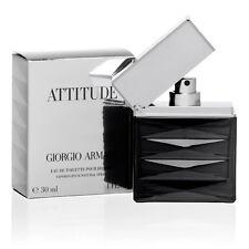 Giorgio Armani ATTITUDE edt eau de toilette pour homme 30ml 1.0 oz open box RARE