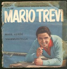 4058MARIO TREVI E ORCH. FRANCO PISANO, EDUARDO ALFIERI – MARE VERDE / 'NNAMMUR