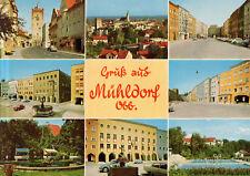 Mühldorf am Inn  -  Nagelschmiedtor - Panorama - Stadtplatz - Schwimmbad  - 1975