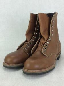 RED WING 80S Pt83 Dead Stock Lace Up Us10.5 2208 US 10.5 Brown boots