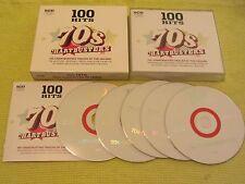 100 Hits 70s Chartbusters 5 CD Album ft Dan Hartman T Rex Jacksons Sweet
