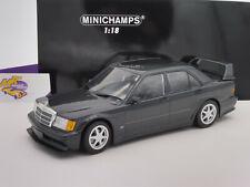 Minichamps 155036100 # mercedes-benz 190e 2,5-16 Evo II 1990 azul-negro 1:18