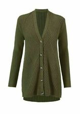 Cabi New NWT Size XL Aerial Cardigan #3536 Loden green 100% cotton 2018