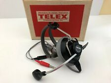 Telex Single-Muff 61320-14 Headset, HAM, Aviation, Working, Great Condition
