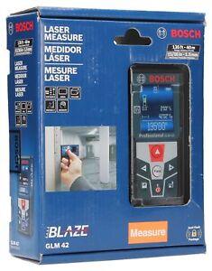 Bosch BLAZE GLM 42 135 ft. Laser Measure with Full-Color Display