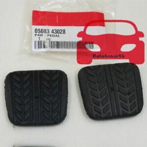 2X Brake&Clutch Pedal Pad Rubber S083-43-028 For Mazda RX-7 B-Series MPV MX-3 6