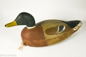 Vintage Unmarked Working Duck Decoy MD9