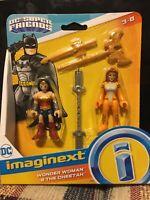 Imaginext super friends dc Wonder Woman Cheetah Sword NEW cat Diana Prince toy