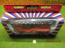 Solido Toner Gam II Pompier Mercédes Echelle N°3111 en boite