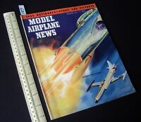 1952 Nov Vintage Model Airplane News USA Aeromodelling Hobby Magazine   (127)