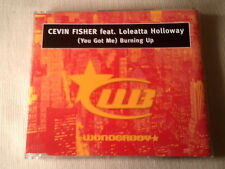 CEVIN FISHER / LOLEATTA HOLLOWAY - BURNING UP - HOUSE CD SINGLE