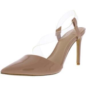 INC Womens Keilani Solid Slingback Pumps D'Orsay Heels Shoes BHFO 7216