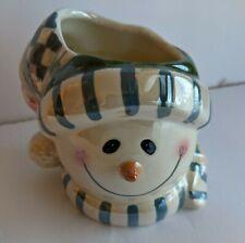 Crazy Mountain Collection Snowman Candle Holder