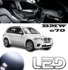 PACK LED BMW E70 X5 20 Ampoules Blanc plafonnier Coffre boite a gants miroirs