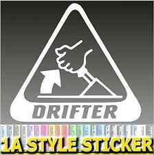 Drift Aufkleber Drifter  Drift Sticker Winterauto 4 motion quattro allrad