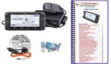 Icom ID-5100A Deluxe VHF/UHF D-STAR Transceiver w/ Programming Kit & Mini-Manual