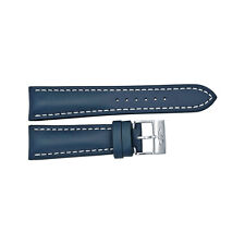 Breitling Leather Strap 24 mm - Blue-AU BT101X-A20BA.1