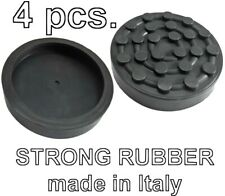 SET 4 pcs Ravaglioli 2 Post Car Lift Ramp STRONG Rubber Pads 125mm Made in Italy