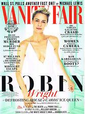 VANITY FAIR 04/2015 ROBIN WRIGHT House Of Cards ANGELINA JOLIE @New@