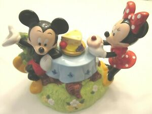 Mickey Minnie On A Picnic Teapot