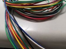 22 AWG Gauge Stranded Hook Up Wire Kit 5 ft Ea 9 Color UL1007 300 Volt