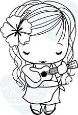 SING-The Greeting Farm Cling Rubber Stamp-Stamping Craft-Hope & Grace-RETIRED