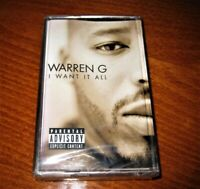 Warren G I Want It All Made In Bulgaria CASSETTE Bulgarian Edition 1999 New Rare
