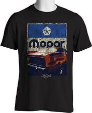 New Laid-Back USA Garage T Shirt Grunge Cuda Pentastar Vintage Black Large