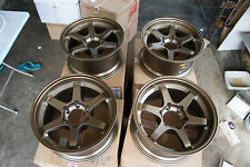 "JDM 17"" Te37 Style wheels pcd139.7X6 land cruiser pajero 4x4 te37v rays triton"