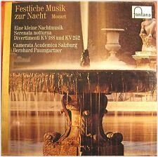 Mozart, Festliche Musik, Kleine Nachtmusik, VG/VG,  LP (5595)