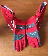 Rick Mears SIGNED RACING GLOVE WITH OTHER GLOVE AND SIMPSON SHOES JSA COA