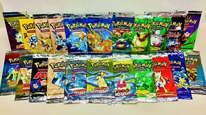 Pokemon Base-Neo Vintage Booster Packs (WOTC '99-'02) 100% Authentic, LP✨—OPENED