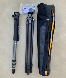 Gitzo GT2531 6X Carbon Fiber Tripod + Gitzo G1564L Monopod + Carrying Bag