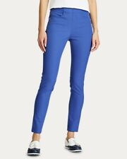 New Womens Ralph Lauren Rlx Golf Stretch Pants Size 2 Blue Msrp $168
