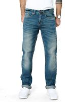 s.Oliver | Herren Slim Straight Fit Jeans-Hose | Tube 57Y5 | Blau | W31 L34