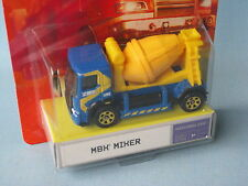 Matchbox MBX Cement Mixer Blue and Yellow Body German Issue Construction 65mm