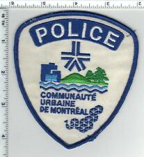 Communaute Urbaine De Montreal Police (Canada) Shoulder Patch was a wall display