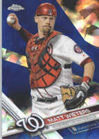 MATT WIETERS 2017 TOPPS CHROME SAPPHIRE EDITION #694 ONLY 250 MADE