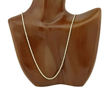 Rope Chain 20 in Long in 14k SOLID Yellow Gold